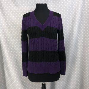 Purple Chaps Sweater